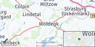 Google Map of Woldegk