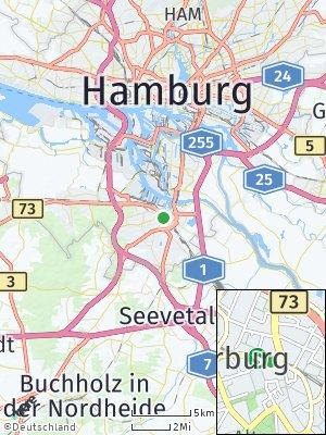 Here Map of Harburg