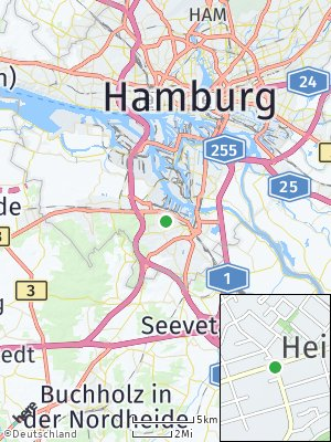 Here Map of Heimfeld