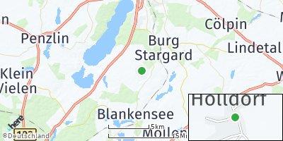 Google Map of Holldorf