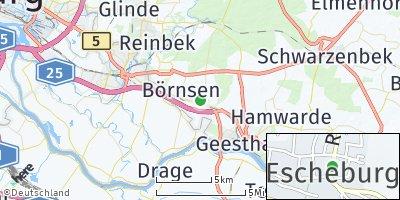 Google Map of Escheburg