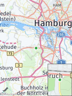 Here Map of Hausbruch