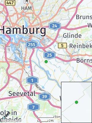 Here Map of Ochsenwerder