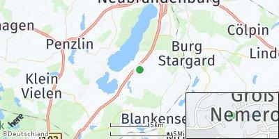 Google Map of Groß Nemerow