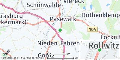 Google Map of Rollwitz