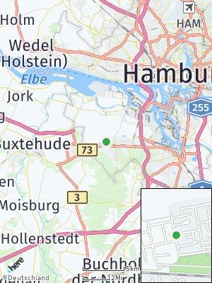 Here Map of Neugraben-Fischbek