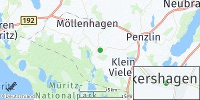 Google Map of Ankershagen