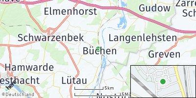 Google Map of Büchen