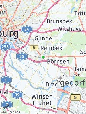 Here Map of Bergedorf
