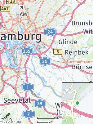 Here Map of Allermöhe
