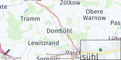 Google Map of Domsühl
