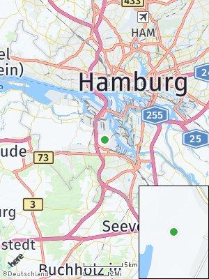 Here Map of Moorburg