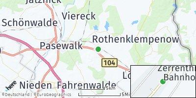 Google Map of Zerrenthin