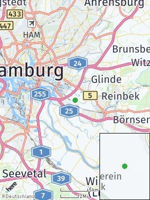 Here Map of Billwerder