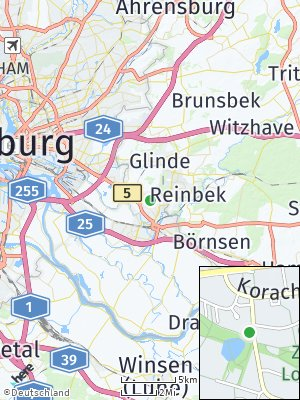 Here Map of Lohbrügge
