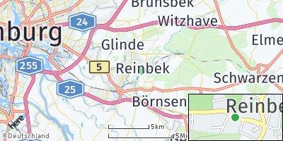 Google Map of Reinbek