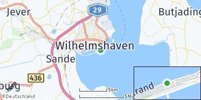 Google Map of Südstrand