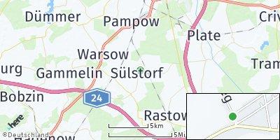 Google Map of Sülstorf