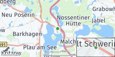 Google Map of Alt Schwerin