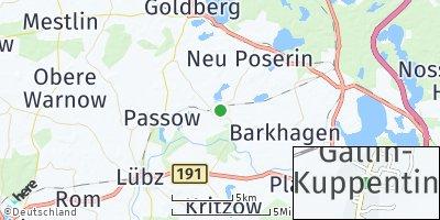 Google Map of Gallin-Kuppentin