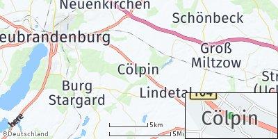 Google Map of Cölpin