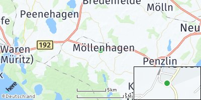 Google Map of Möllenhagen