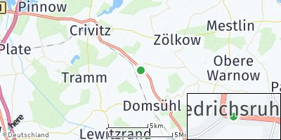 Google Map of Friedrichsruhe