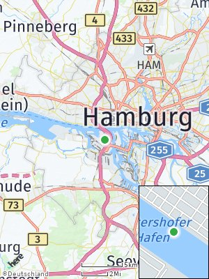 Here Map of Waltershof