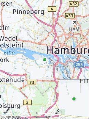 Here Map of Finkenwerder