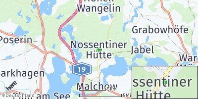 Google Map of Nossentiner Hütte
