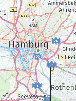 Here Map of Rothenburgsort