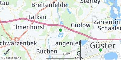 Google Map of Güster