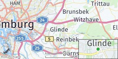 Google Map of Glinde