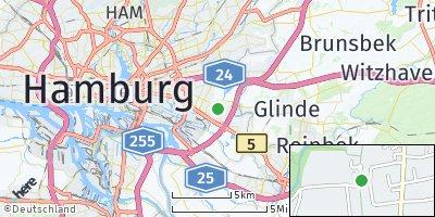 Google Map of Billstedt