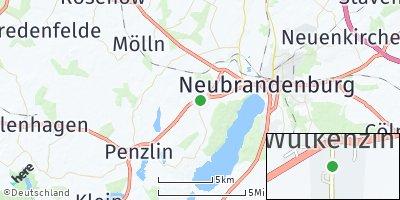 Google Map of Wulkenzin