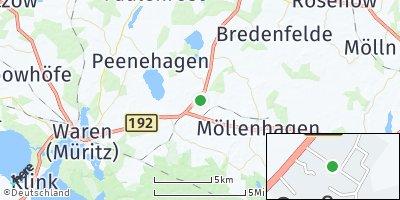 Google Map of Groß Plasten