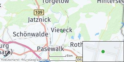 Google Map of Viereck