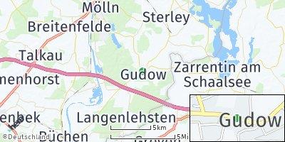 Google Map of Gudow