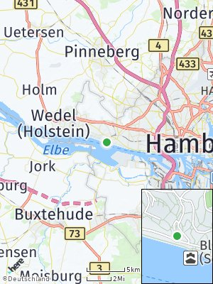 Here Map of Blankenese