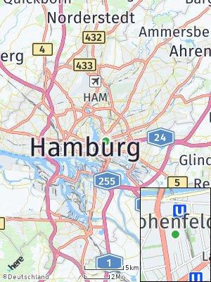 Here Map of Hohenfelde