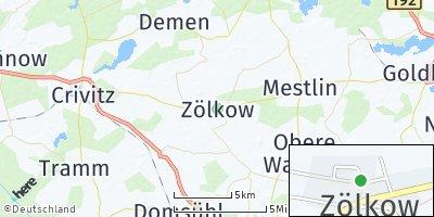 Google Map of Zölkow