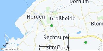 Google Map of Halbemond