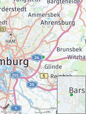 Here Map of Barsbüttel