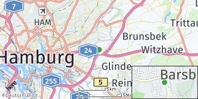 Google Map of Barsbüttel
