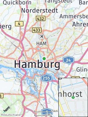 Here Map of Uhlenhorst