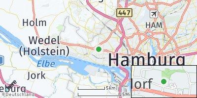 Google Map of Osdorf