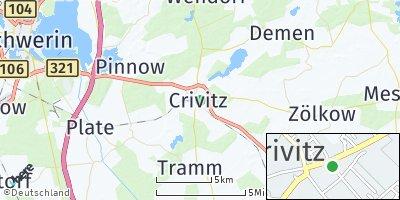 Google Map of Crivitz