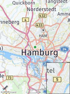 Here Map of Eimsbüttel