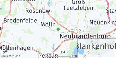 Google Map of Blankenhof