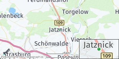 Google Map of Jatznick